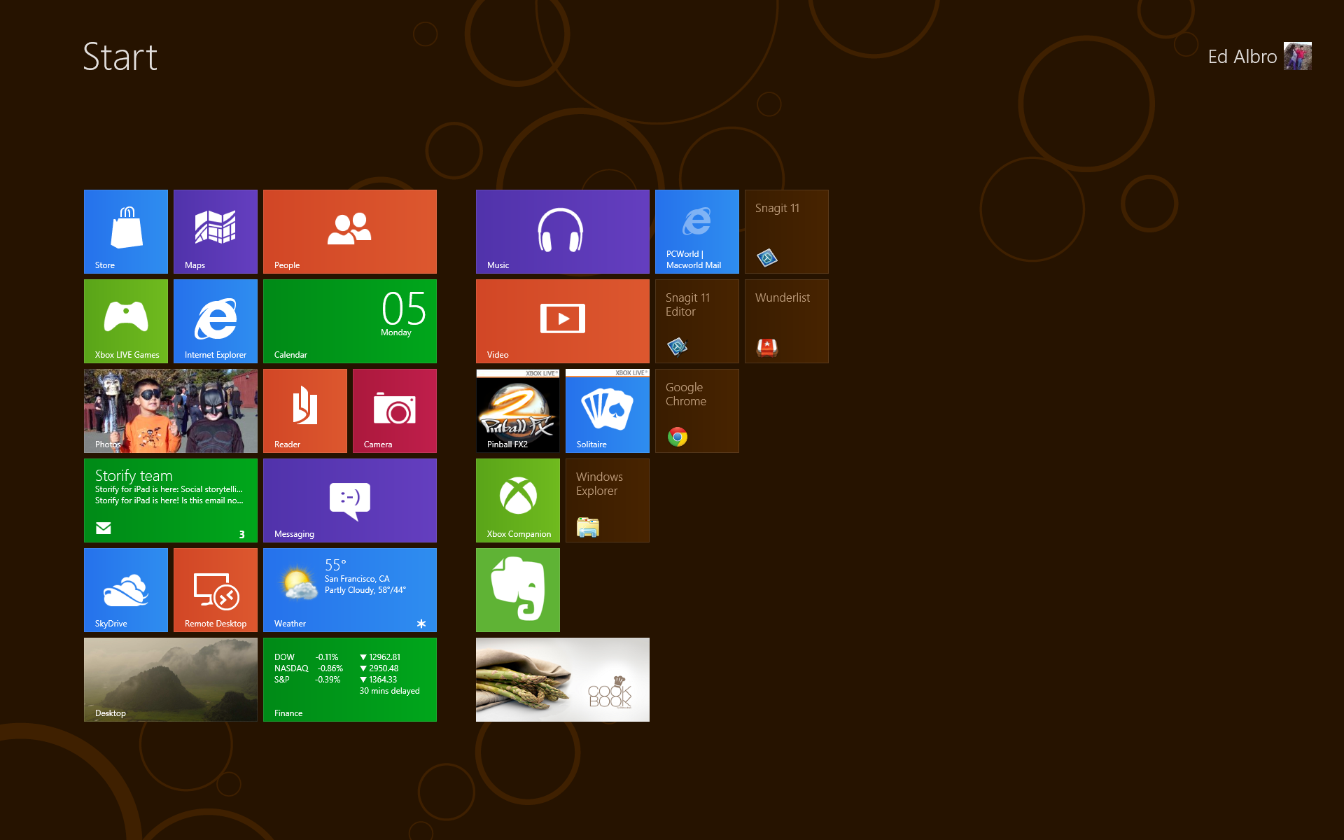 Windows 8 login | gizmocrazed future technology news.